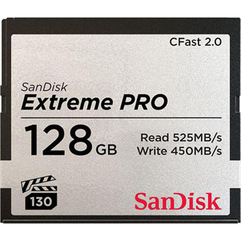 SanDisk Cfast 2.0 Extreme Pro 128GB 525MB/s