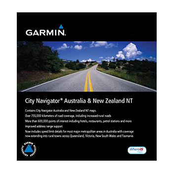 Garmin City Navigator Karta Over Australien Och Nya Zeeland Pa